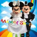 Mascotte Minnie & Topolino Sposi Deluxe