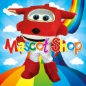 Mascotte Super Wings Jett Deluxe