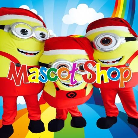 Mascotte Minion Natale Deluxe