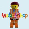Mascotte Lego Economic