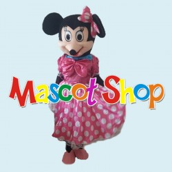 Mascotte Minnie Rosa Economic