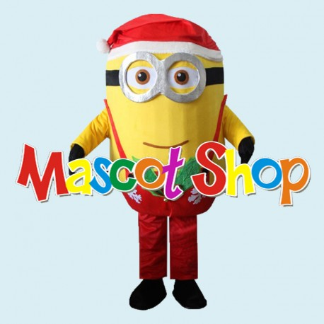 Mascotte Minion Natale Rosso Economic