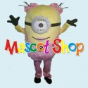 Mascotte Minion Donna 1 Economic