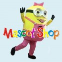 Mascotte Minion Donna 2 Economic