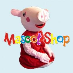 Mascotte Peppa Pig Economic