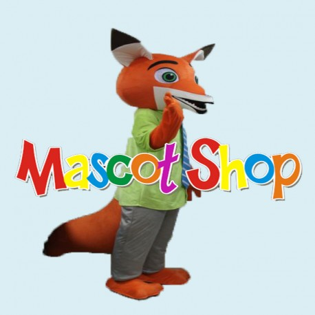 Mascotte Volpe Economic
