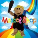 Mascotte Barney Rubble Deluxe