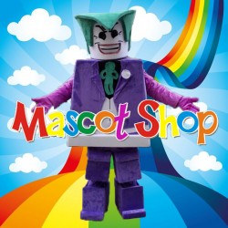 Mascotte Lego Joker Deluxe