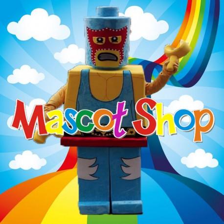 Mascotte Lego Wrestler Deluxe