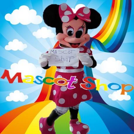 Mascotte Minnie Fuxia Deluxe