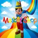 Mascotte Pinocchio Deluxe