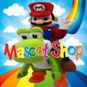Mascotte Mario e Yoshi Deluxe
