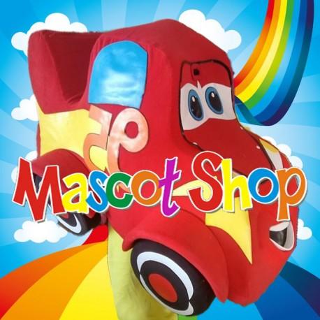 Mascotte Saetta Mc Queen Deluxe