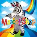 Mascotte Zebra Deluxe