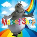 Mascotte Ippopotamo Deluxe
