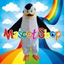 Mascotte Pinguino Deluxe