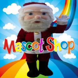 Mascotte Babbo Natale Super Deluxe