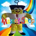 Mascotte Super Spongebob Deluxe