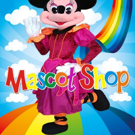 Mascotte Minnie Halloween Deluxe