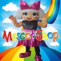 Mascotte Super Lol Diva Deluxe