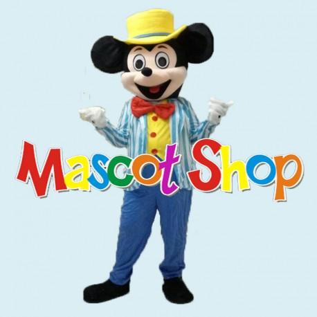Mascotte Topolino Azzurro Economic