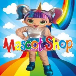 Mascotte Super Lol Unicorno Deluxe
