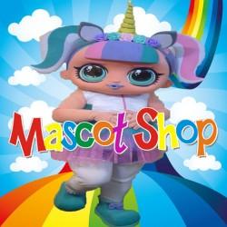 Mascotte Lol Unicorno Super Deluxe