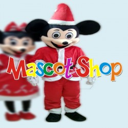 Mascotte Topolino Economic Natalizio