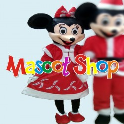 Mascotte Minnie Economic Natalizia