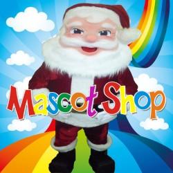 Mascotte Babbo Natale 2 Super Deluxe