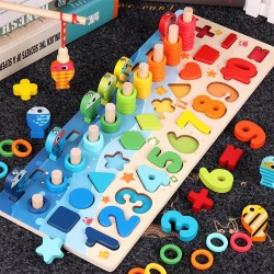 """Giocattolo Montessori """"La Pesca"""""""