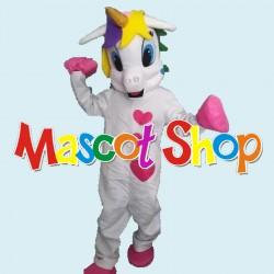 Mascotte Unicorno Economic