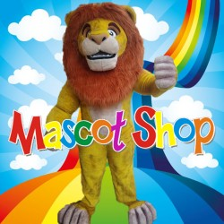 Mascotte Simba Leone Super Deluxe